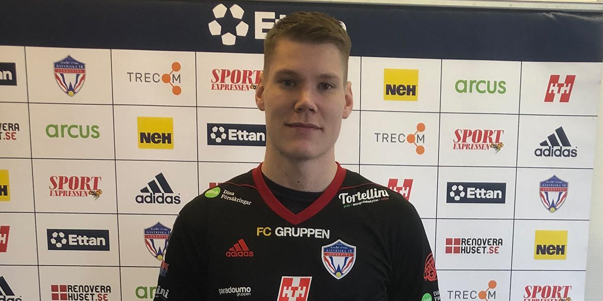 Gustaf Halvardsson klar för Assyriska IK!